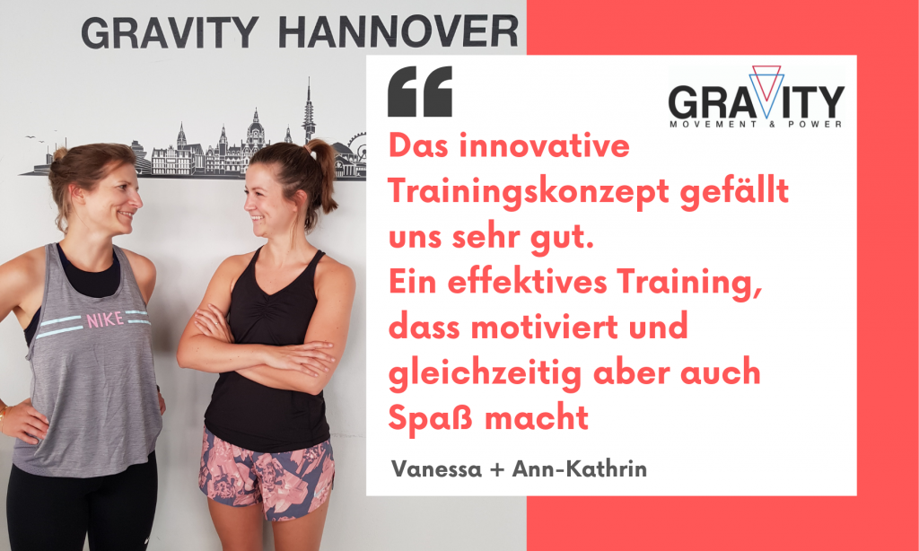 Das innovative Trainingskonzept gefällt uns sehr gut. Ein effektives Training, dass motiviert und gleichzeitig aber auch Spaß macht.